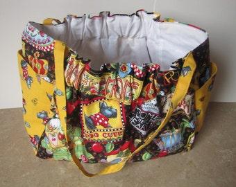 Cute handbag with doggie design