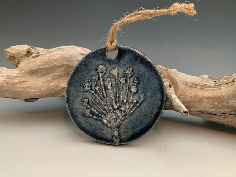 Raku Ornament