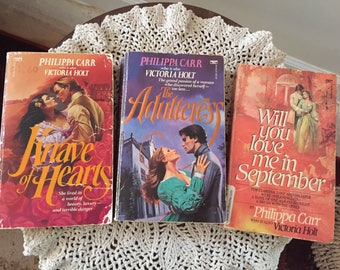 Three Philippa Carr Paperback Novels