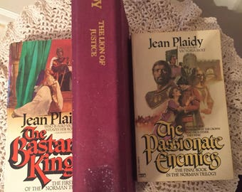 vintage- the Norman Trilogy (3) books in series by Jean Plaidy!