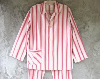 1960s vintage mens pajamas size 38 European Zornica Bandqvce Nad Berb