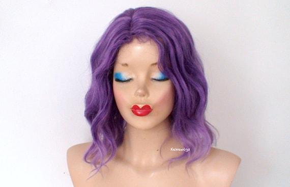 Purple wig. Short ombré wig. Cosplay wig. Pastel purple  c3a0ab5b9