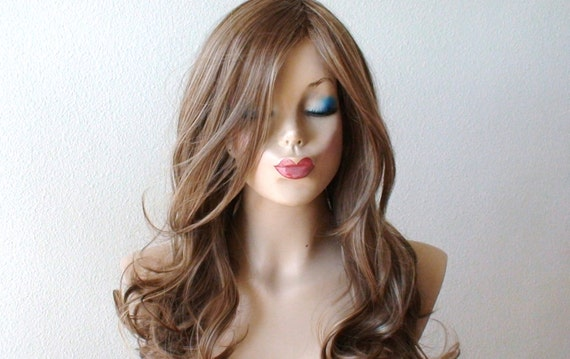 Brown Dirty Blonde Ash Blonde Wig Lace Front Wig Heat Etsy