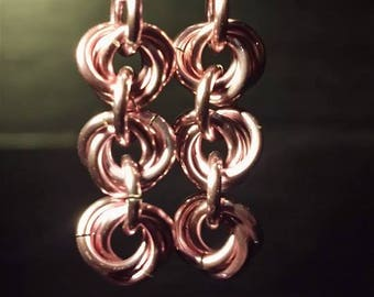 Mobius Chain Earrings
