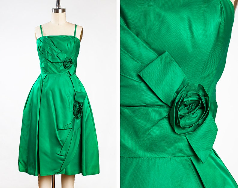 Green Taffeta Cocktail Dresses