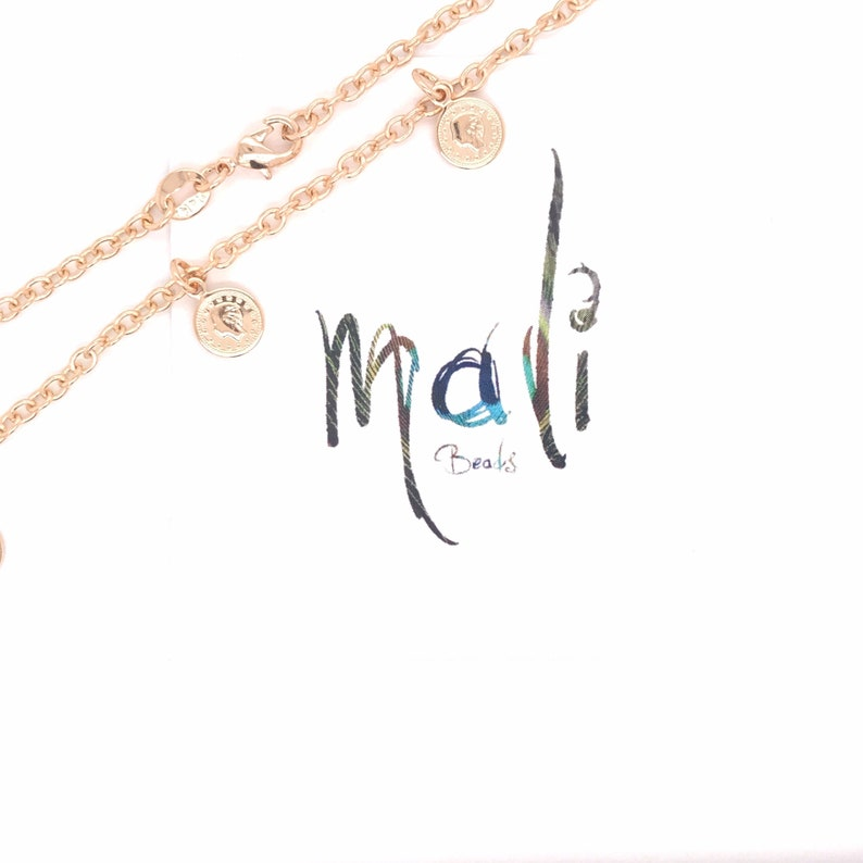 Dangling Gold Chain Anklet,Anklets,Minimalist Jewelry,Gift for her 18K GF Gold Coin Charm Anklets for Women,Gold Filled Anklet for her