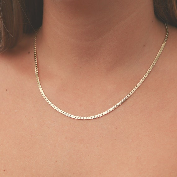 Dainty Gold Necklace Layered Everyday Necklace Gold Chain Etsy