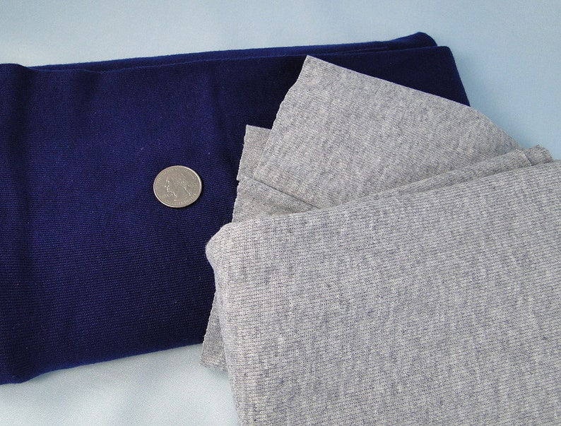 Lot Vintage Tube Knit Fabric Remnants