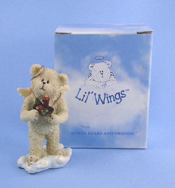 Boyds Bear Angel Lil Wings Joy 1E First Edition