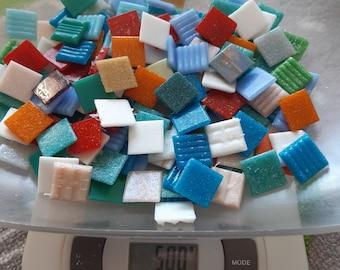 Mosaic mix for mosaic crafts, glass mosaic tiles