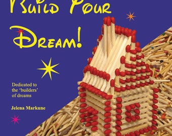 DIY, Tutorial, step by step, Matchhouse making instruction, how to make a matchstick house