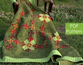 Urban Amish Quilt Pattern - PDF quilt pattern - Instant download of our traditional Amish quilt pattern made from double nine patch blocks
