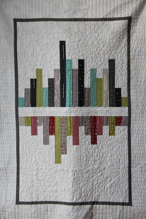 Trip To Ny Quilt Modern Quilt Loft Quilt New York And Etsy