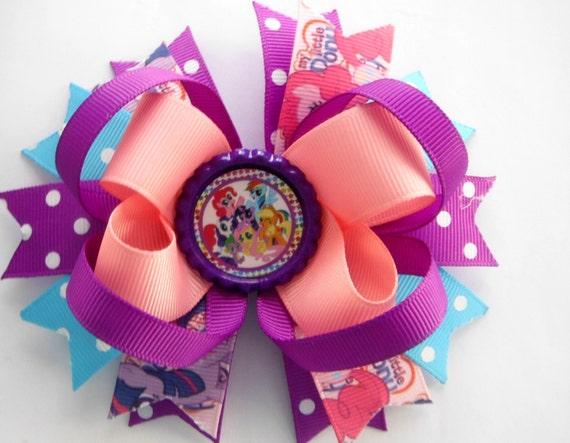 Mon petit poney inspiré l'arc - arc de boutique My Little Pony Layered - My LIttle Pony anniversaire