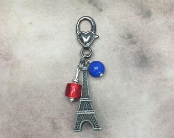 Eiffel Tower planner charm journal charm France under 10 fall