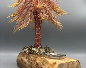 Wire Tree,Wire Tree Sculpture,Wire Tree Art,Trees,Copper Tree,Tropical Tree,Bonsai Tree,50th Anniversary, Trees,Tree Sculpture,Palm Tree,