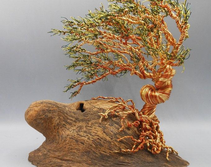 Wire Tree Sculpture,Wire Trees,Wire Art,Wire Sculpture,Metal Sculpture,Copper Trees,Bonsai Trees,Trees Sculpture,Tree of Life,Colored Trees,