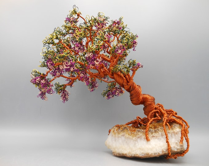 Wire Tree Sculpture,Wire Trees,Wire Art,Wire Sculpture,Windswept Tree,Sculpture,Copper Trees,Bonsai Trees,Trees Sculptures,Flowering Trees,