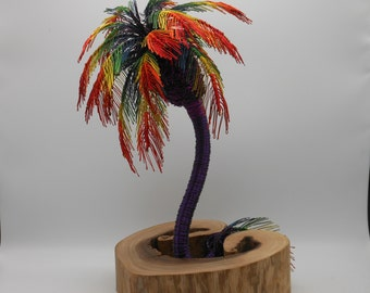Wire Tree Sculpture,Wire Tree,Wire Art,Palm Tree,Tree Sculpture,Palms,Copper Tree,Trees,Rainbow Tree,Memorial Trees,Tropical Tree,Pride,