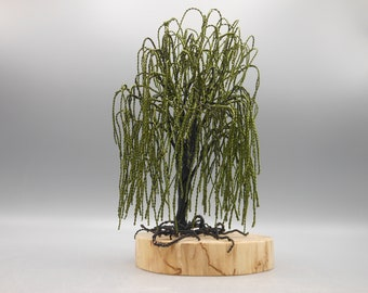 Wire Tree Sculpture,Wire Tree,Wire Art,Tree Sculpture,Metal Tree,Copper Tree,Bonsai Tree,Willow Tree,Trees,Memorial Tree,Photo Tree,Green