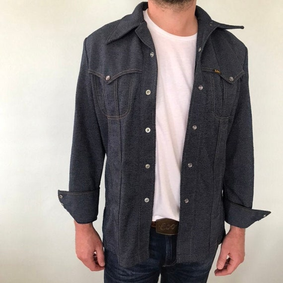 70s Lee denim shirt jacket