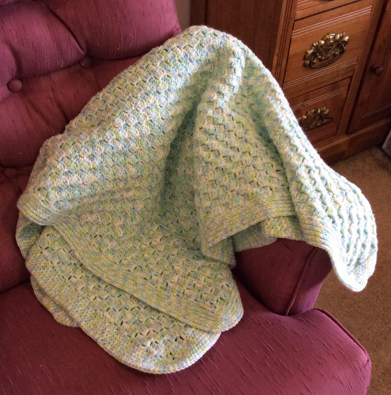 Crocheted Lapghan Handmade Small Blanket Wheelchair Lap Etsy