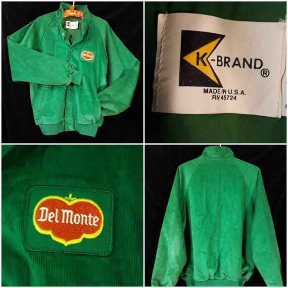 Vintage 1970's Corduroy Del Monte Men's Jacket.
