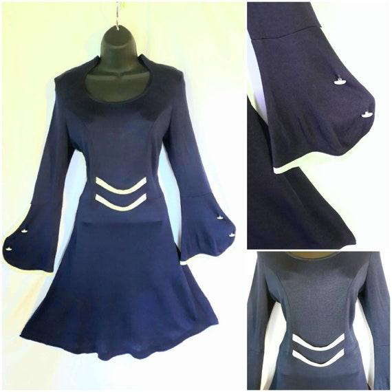 Vintage 1970's A line dress
