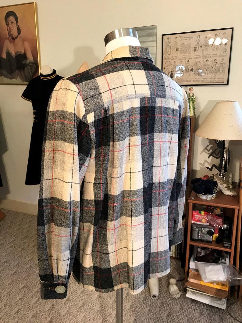 Vtg.Detailed 40/'s PENDLETON 49er Signature Jacket Size SM