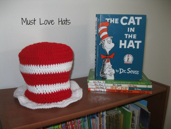 New Cat In The Hat Dr Seuss Baby Booties 6-12 Months Shower Gift Xmas Boy Girl