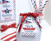 Printable Airplane Favor Tag-Time Flies Party Favor-Airplane Tag-Airplane Party Tag-Airplane Birthday Party Favor Tag-Time Flies Party Tag