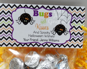 image regarding Bugs and Kisses Free Printable called Insects and kisses Etsy