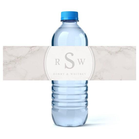 Hochzeit-Wasser-Flaschen-Etikett personalisierte | Etsy