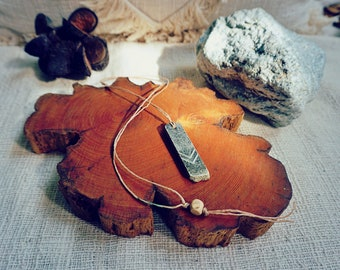 Rectangle Soapstone Necklace