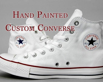 17d71b8bf Hand Painted Custom Converse Shoes
