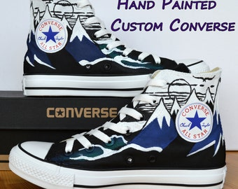 Hand Painted Custom Converse Shoes