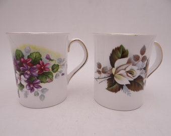 English Chintz mug  Floral Flower