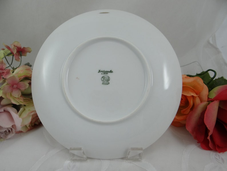 1960s Hutschenreuther Fruit Salad Plate Apple Charming
