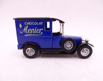 "Vintage Lesney Matchbox Y-5 Models of Yesteryear ""Menier Chocolat"" 1927 Talbot Van Diecast Car"