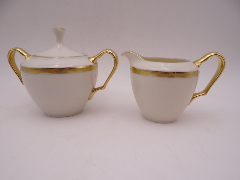 Cups /& Saucers by the piece Sugar Bowl LENOX TUXEDO Dishes Plates