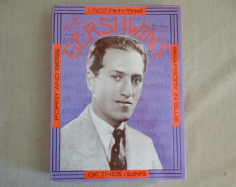The Gershwins Hardcover Book - Coffee Table Book