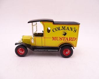 Vintage Lesney Matchbox Y-12 Models of Yesteryear Coleman's Mustard 1922 Ford Model T Diecast Car