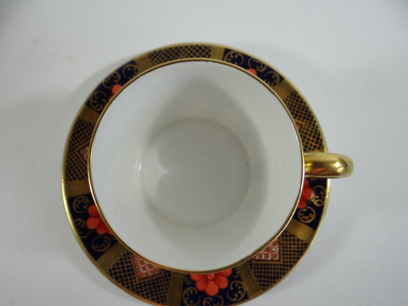 02e6d3c2df30 Extremeley Rare Royal Crown Derby Old Imari Solid Gold Band