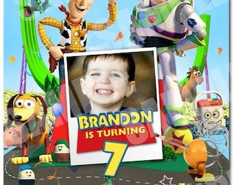 Toy Story birthday Invitation - Printable Toy Story birthday Invitation