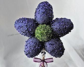Purple Flower Fairy Wand