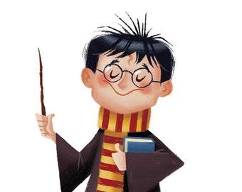 Happy Birthday, Harry, 8.5x11 print
