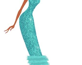 Diana Ross, 11x17 print