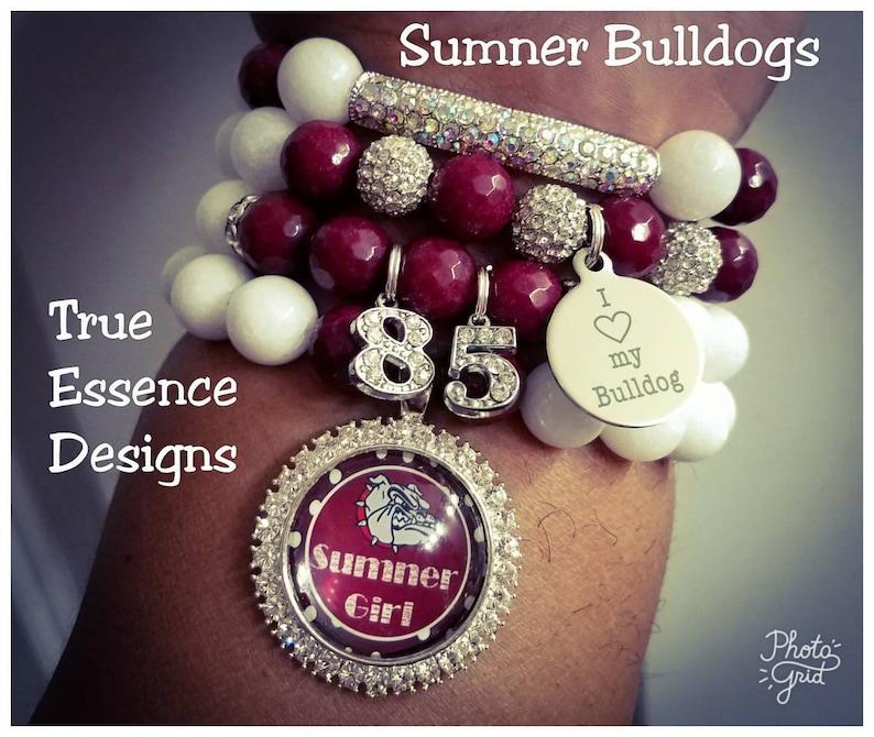 Sumner Alumni Bracelet Set Made W Jade