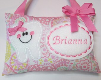 2c8b4cb656d067 Tooth Fairy Pillow Personalized Tooth Pillow