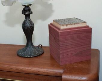 Rustic Barn Wood Keepsake Box